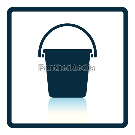 icon of bucket