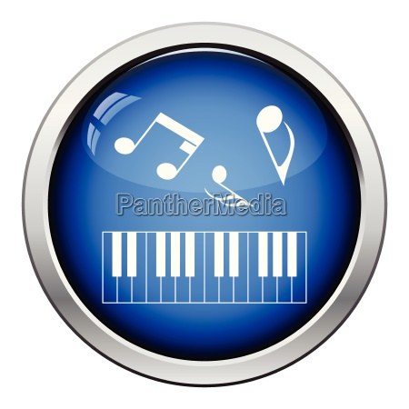 icon of piano keyboard