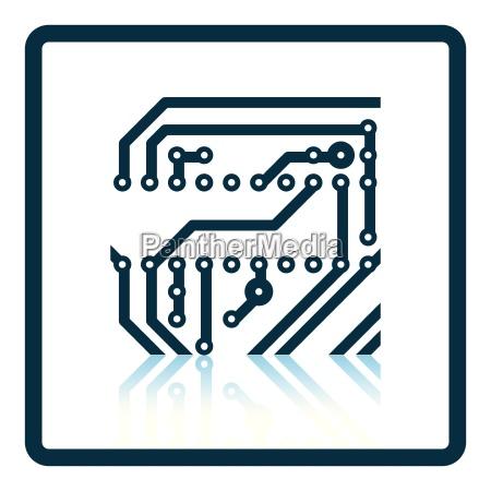 circuit board icon