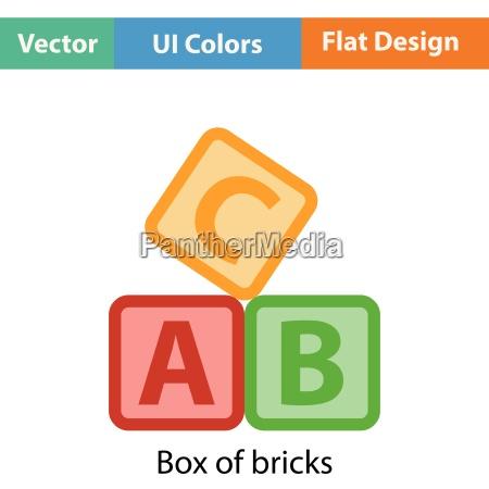 box of bricks icon