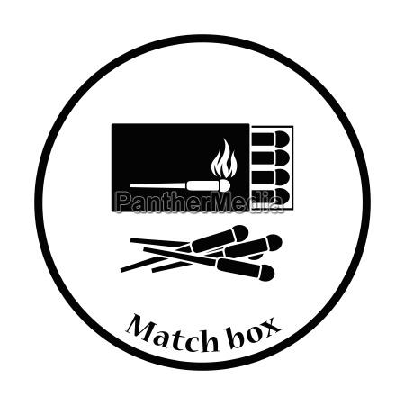 match, box, , icon - 24998194