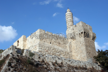 the tower of david in jerusalem