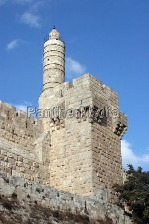 the tower of david is an