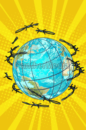 planet earth is barbed wire free