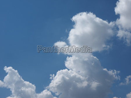 blue sky with clouds background with