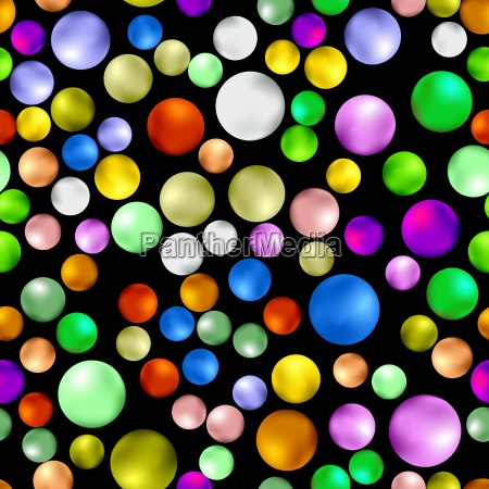 colorful sweet gumball seamless pattern isolated