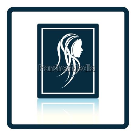 portrait art icon