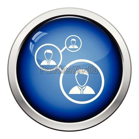 businessmen structure icon