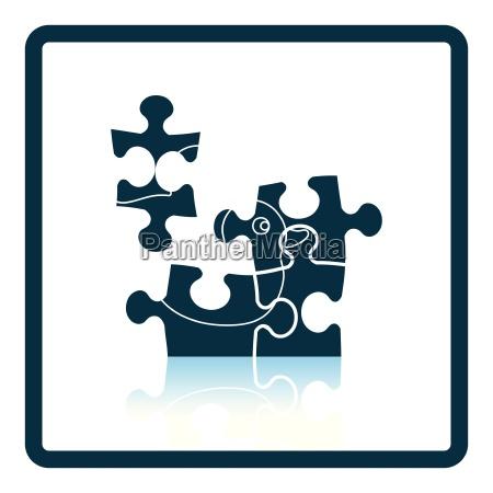 baby puzzle icon