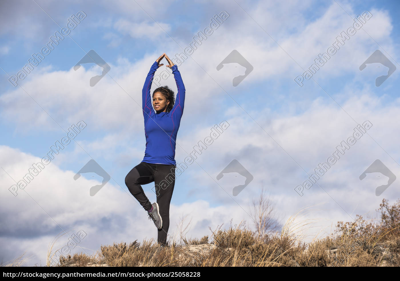 woman, practicing, yoga, outdoors, , newburyport, , massachusetts, - 25058228