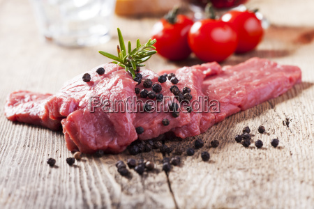 meat raw veal steak meat beef