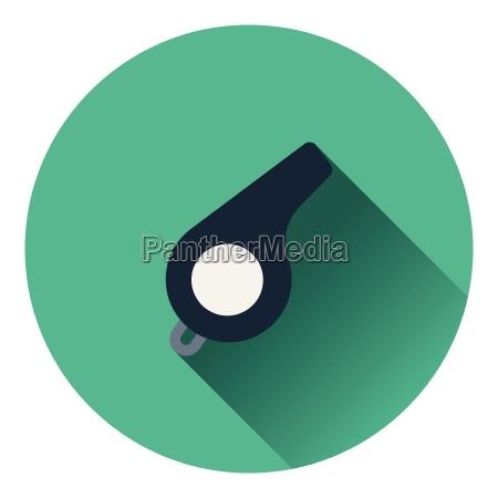 american football whistle icon