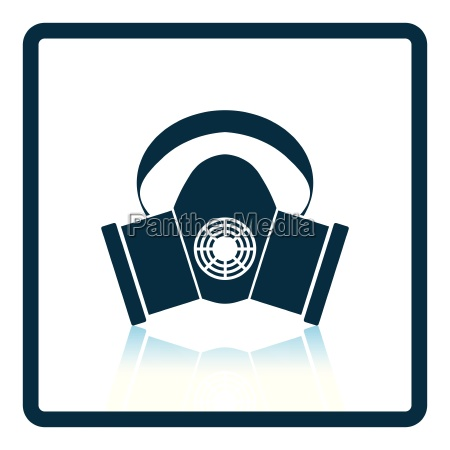dust protection mask icon