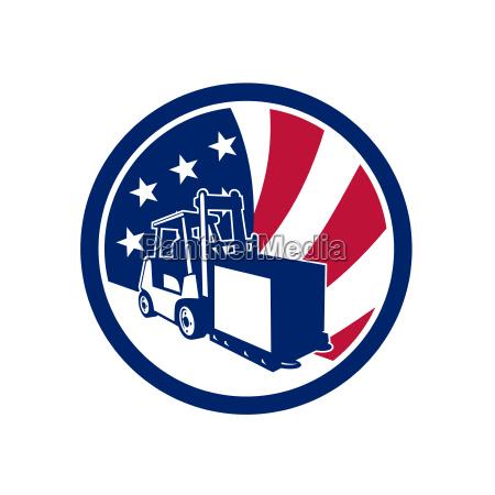 american logistics usa flag icon