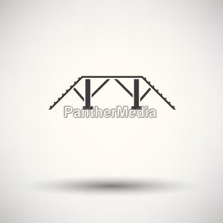 dog training bench icon