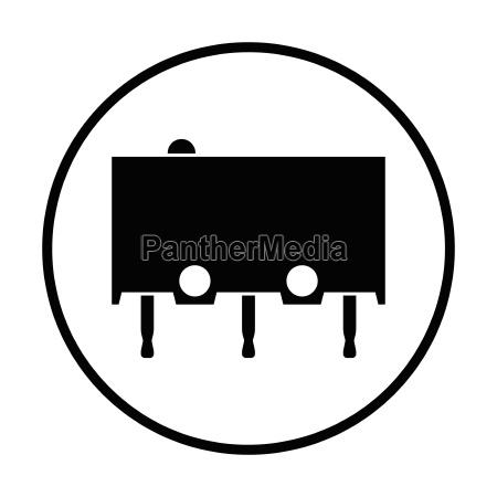 micro button icon icon