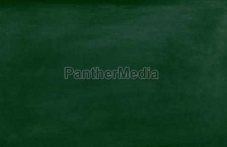 green school chalkboard isolated on white