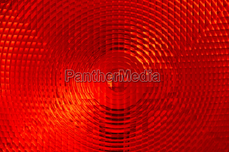 abstract background of red faceted plastic