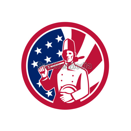 american baker usa flag icon