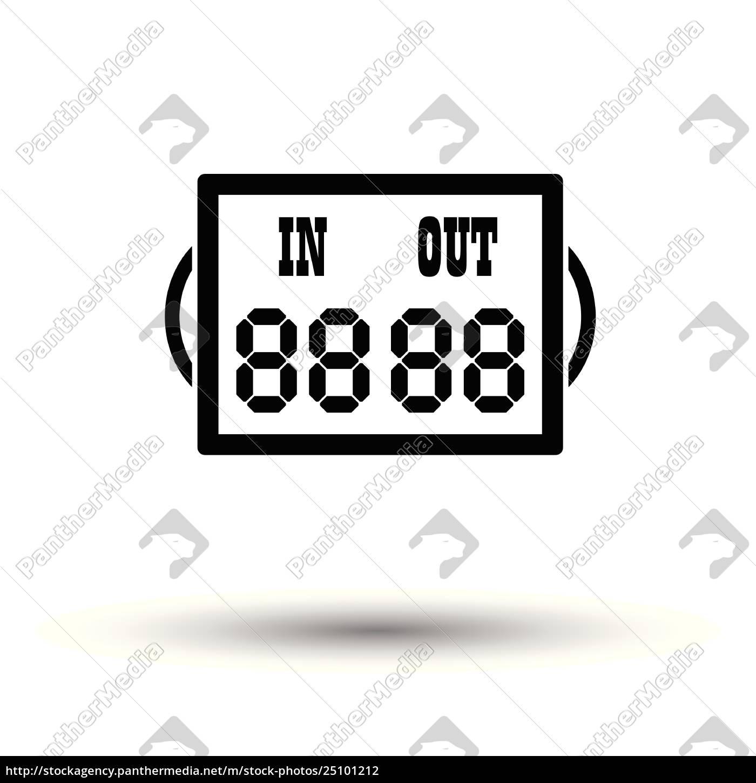 soccer, referee, replace, scoreboard, , icon - 25101212