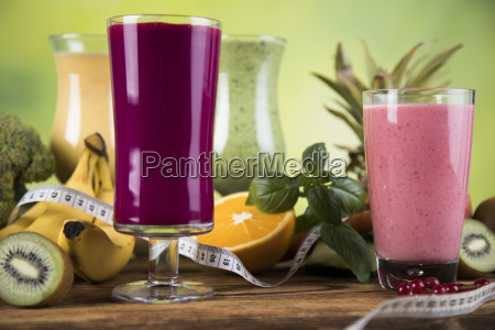 cocktails, with, fresh, fruits, , vitamin, and - 25105802
