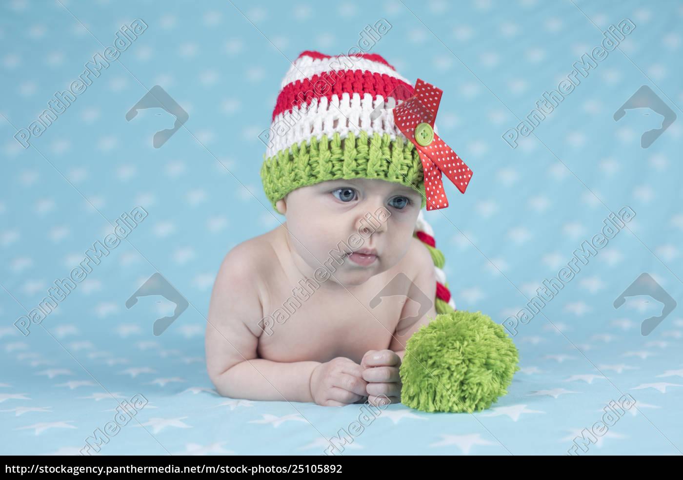 santa, christmas, baby - 25105892