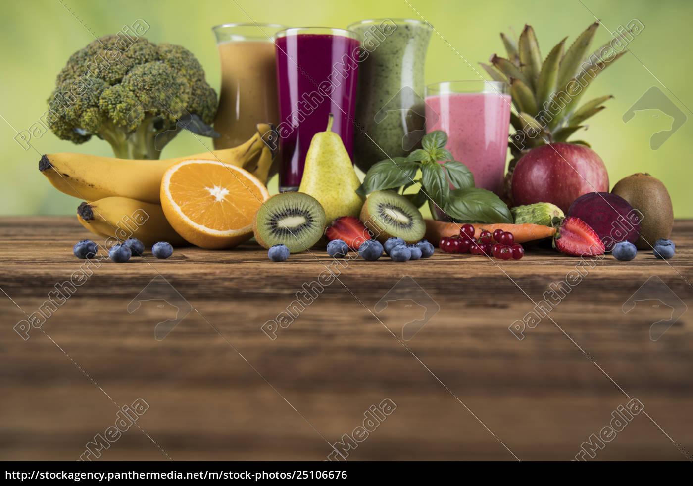 sport, diet, cocktails, , , fitness, , wooden, background - 25106676