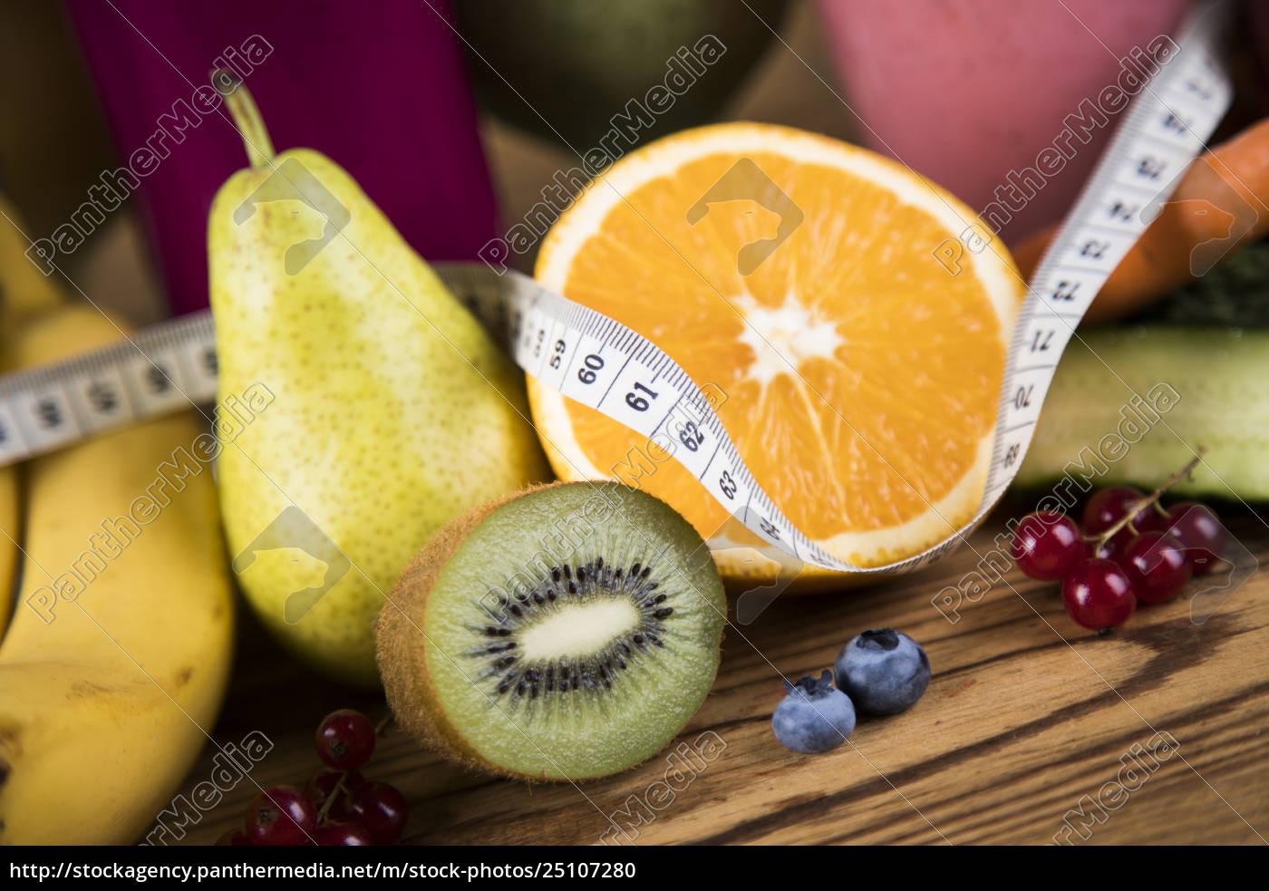 sport, diet, cocktails, , , fitness, , wooden, background - 25107280