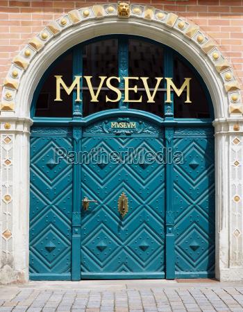 museum door entrance
