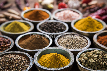 a, selection, of, various, colorful, spices - 25119676
