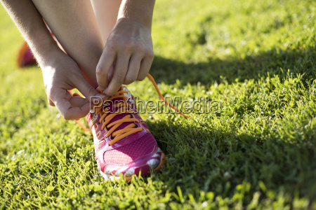 young fitness woman running training and