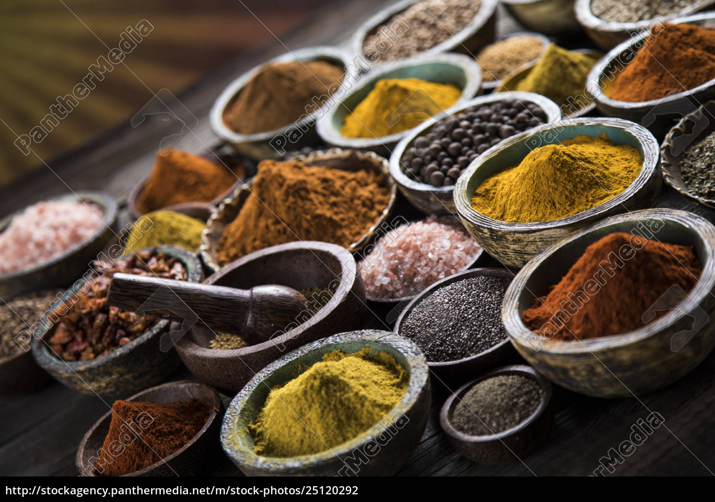 a, selection, of, various, colorful, spices - 25120292