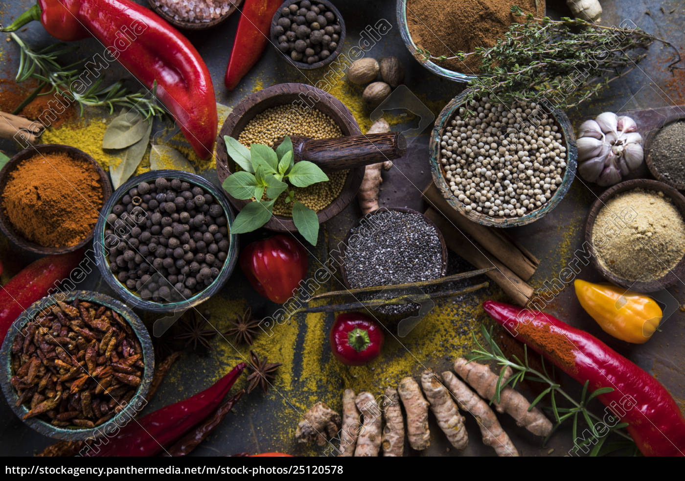 a, selection, of, various, colorful, spices - 25120578