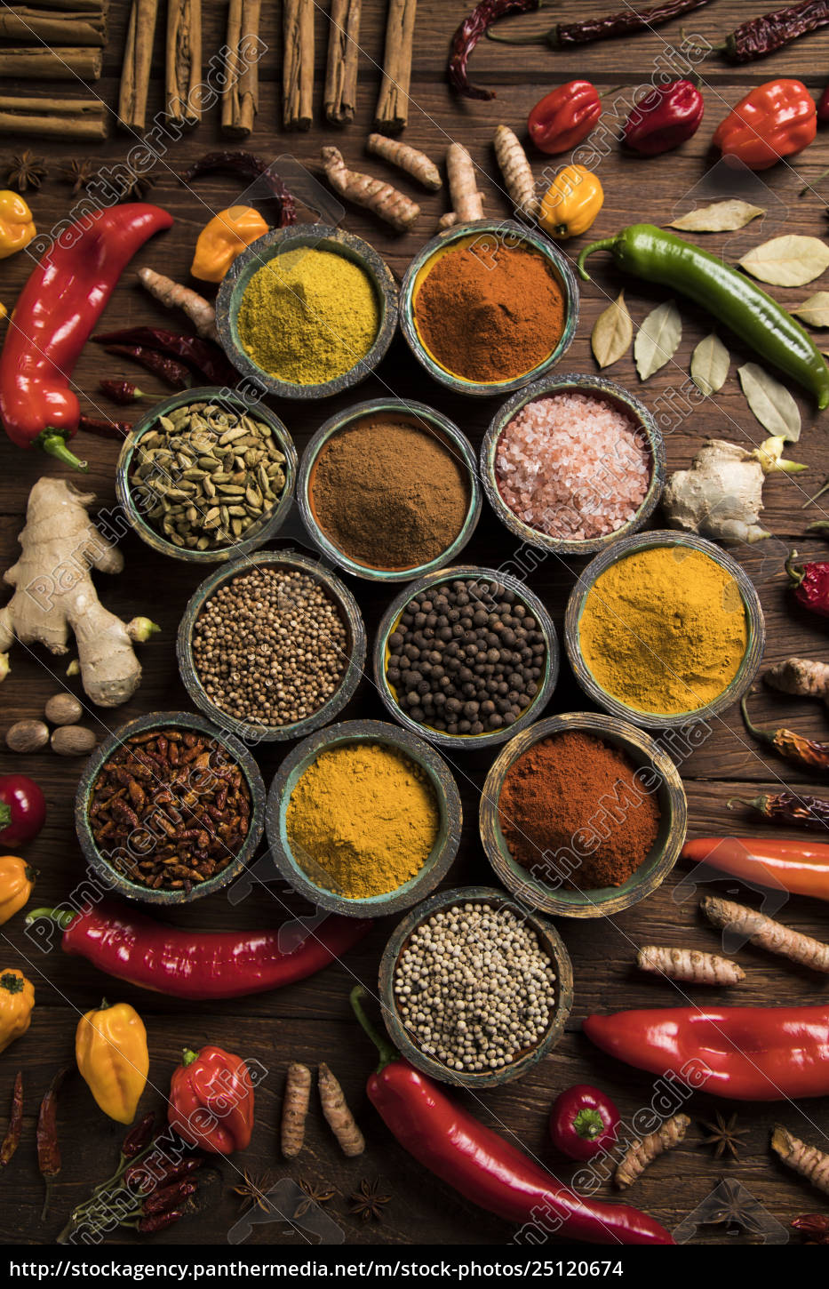 a, selection, of, various, colorful, spices - 25120674