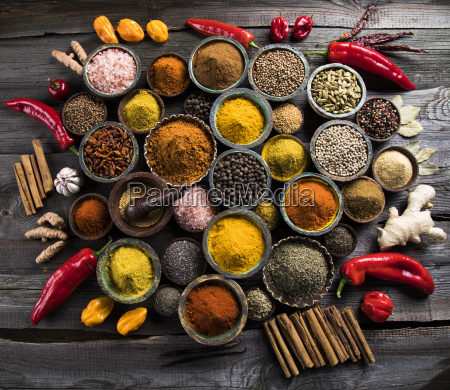various, spices, selection - 25120604