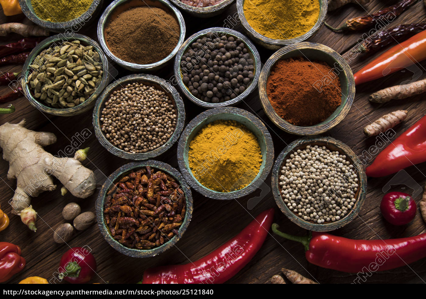 a, selection, of, various, colorful, spices - 25121840