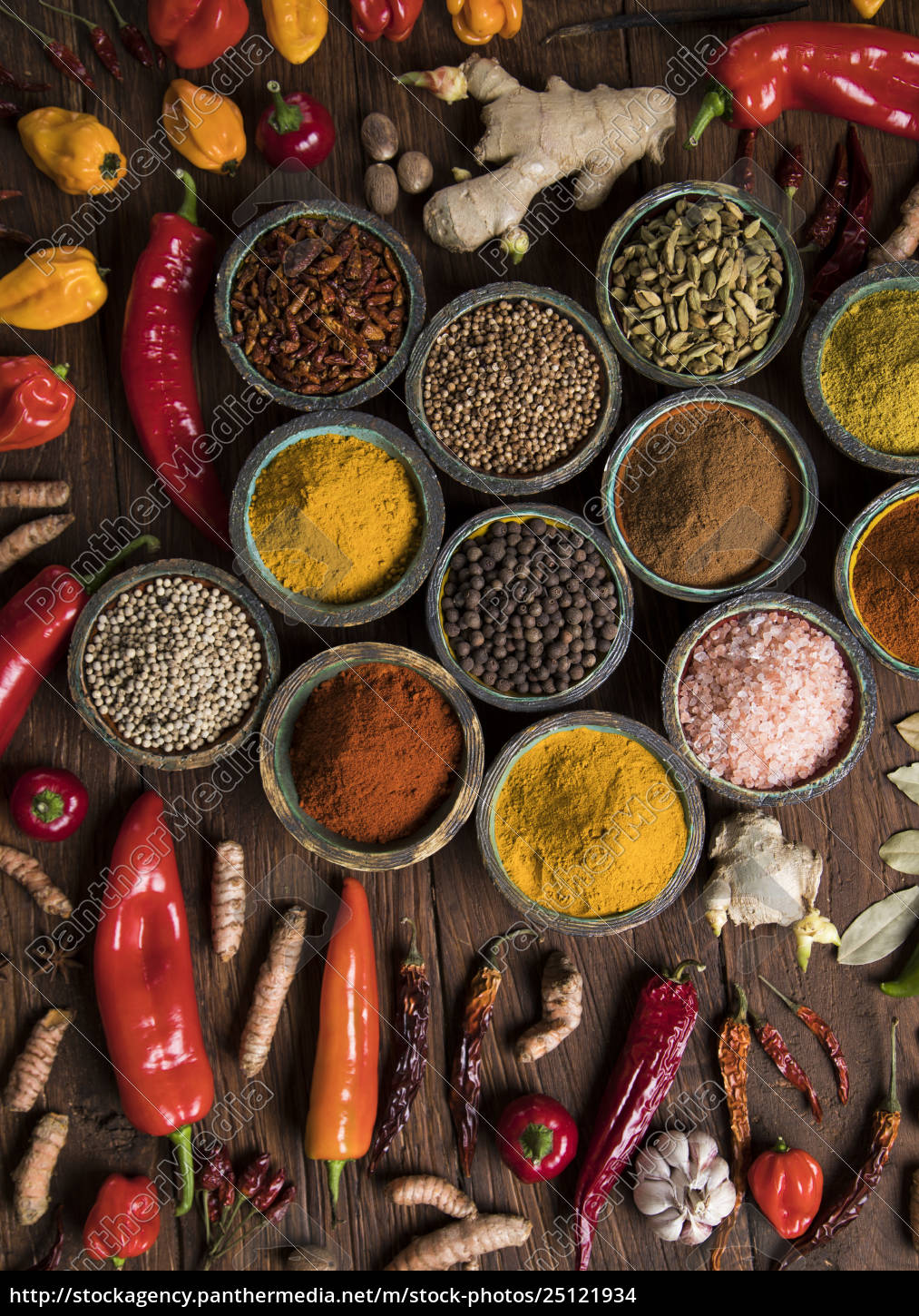 a, selection, of, various, colorful, spices - 25121934