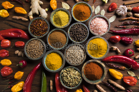 various, spices, selection - 25121896