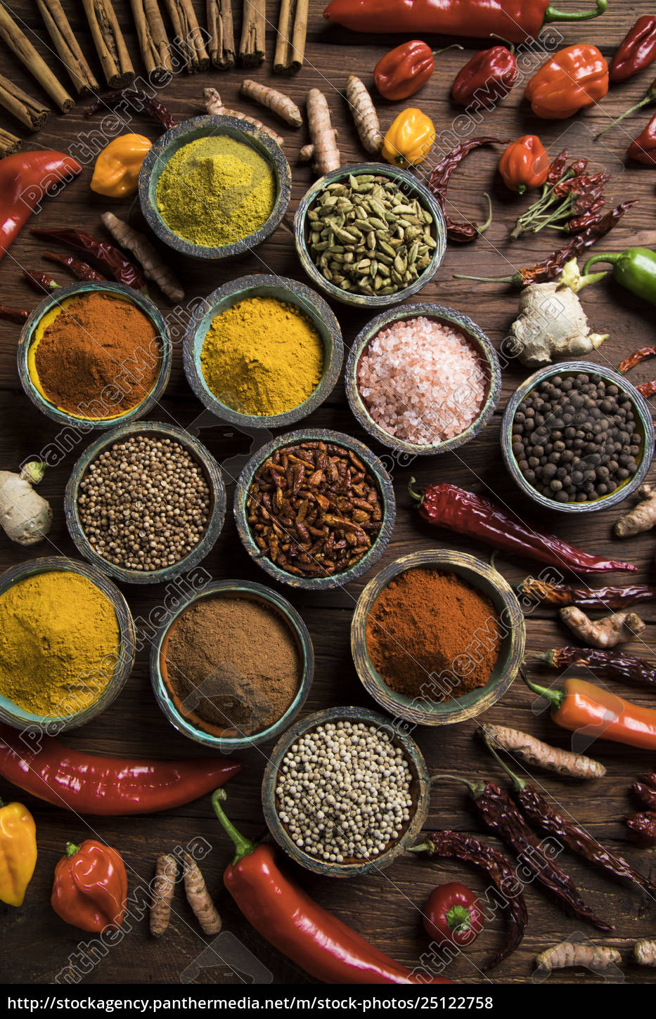 a, selection, of, various, colorful, spices - 25122758