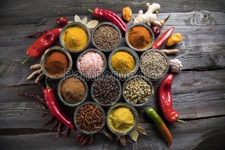 a, selection, of, various, colorful, spices - 25122808