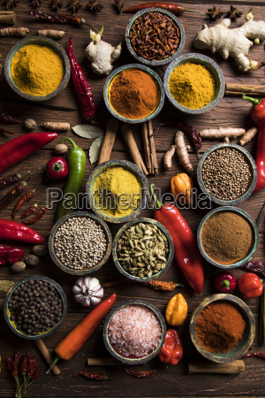 a, selection, of, various, colorful, spices - 25122814
