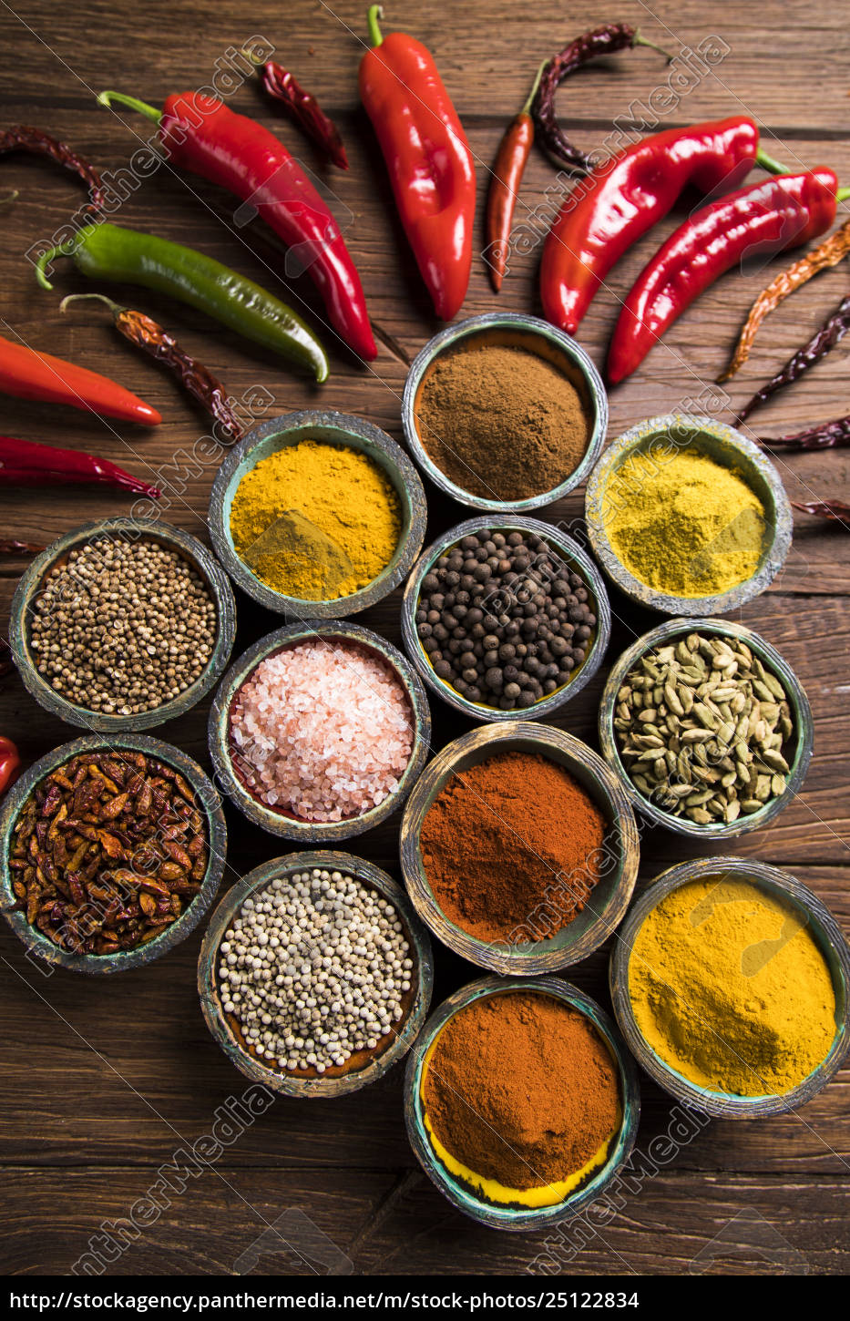 a, selection, of, various, colorful, spices - 25122834