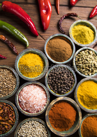 a, selection, of, various, colorful, spices - 25122850