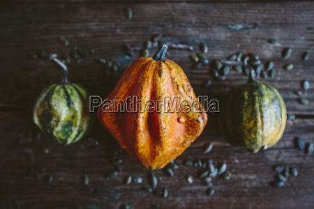 orange ornamental pumpkin