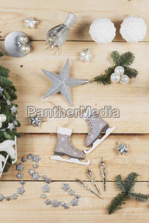christmas decoration items real fir tree