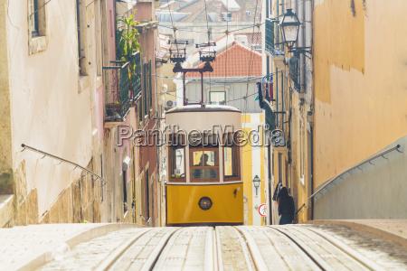 portugal lisbon bairro alto elevador da
