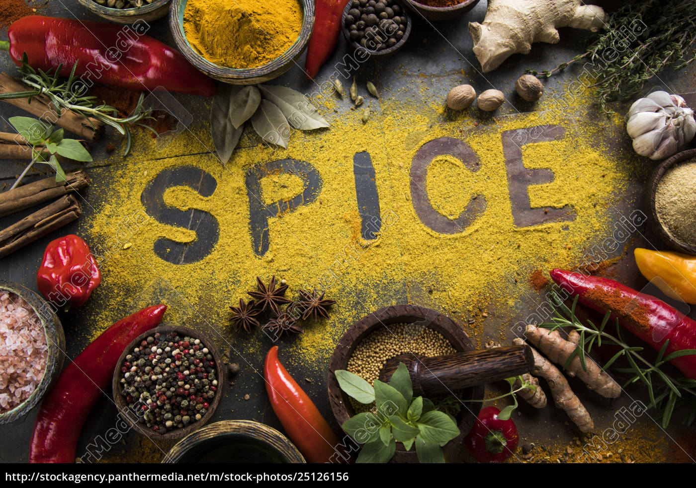 assorted, spices - 25126156