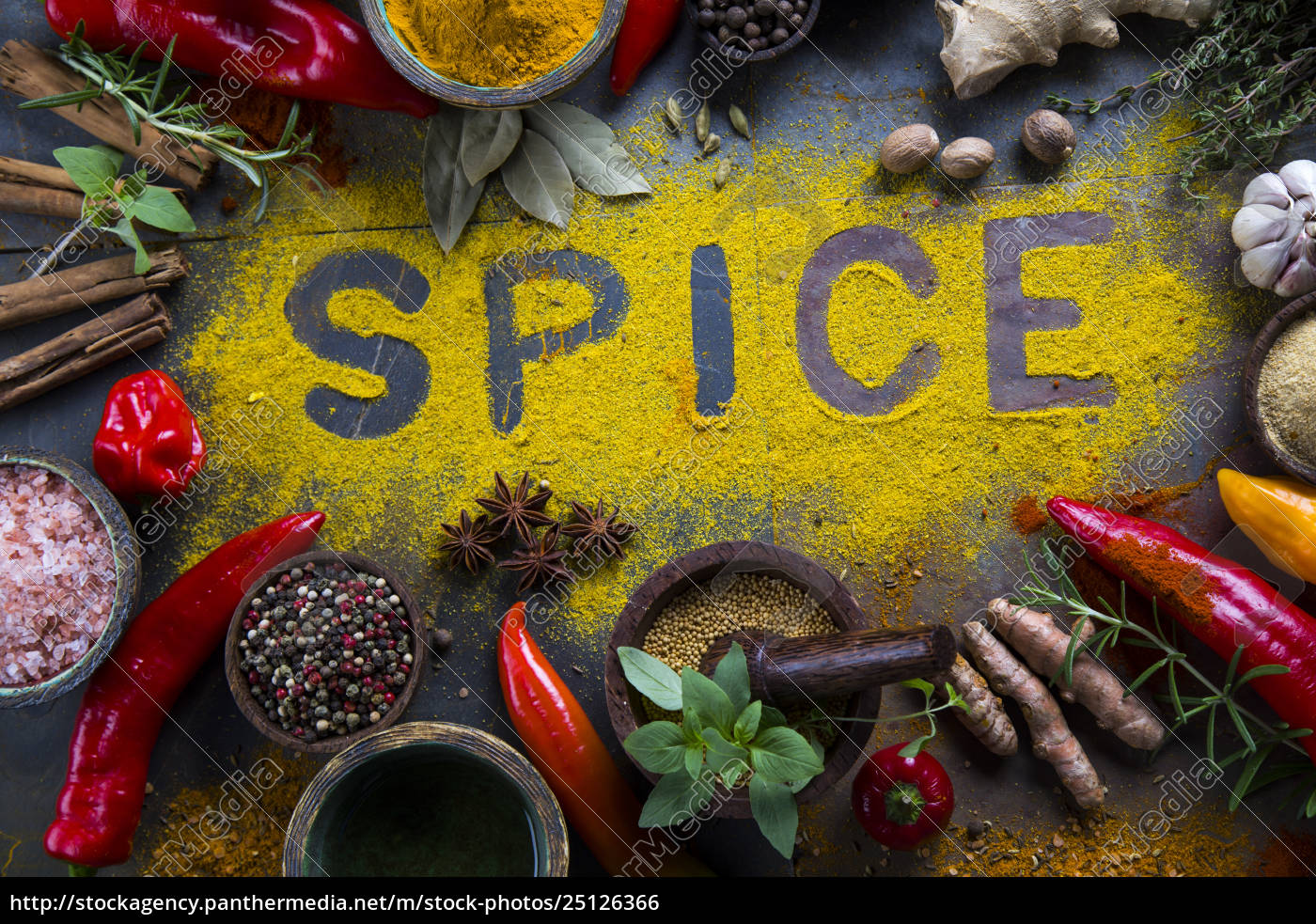 assorted, spices - 25126366