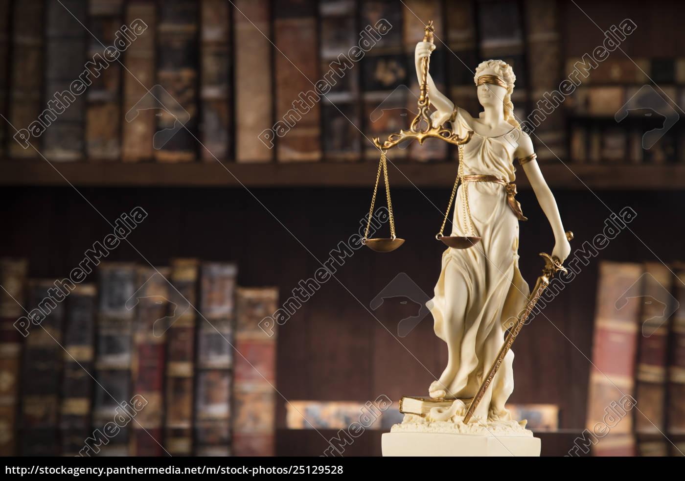 antique, statue, of, justice, , law - 25129528