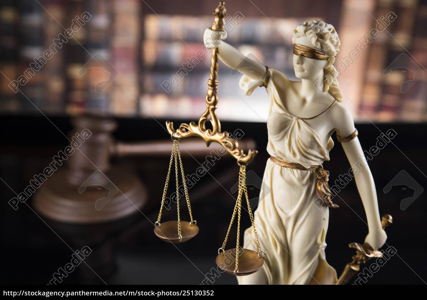 antique, statue, of, justice, , law - 25130352
